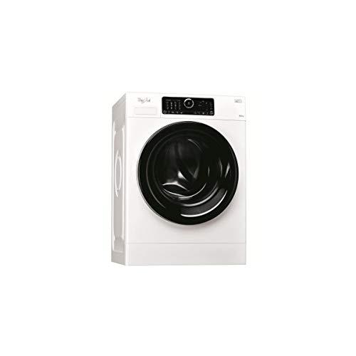 Whirlpool FSCR 12440 Carga frontal 1400RPM A+++-50% Blanco - Lavadora (Carga frontal, Blanco, Izquierda, Cromo, Acero inoxidable, De plástico)