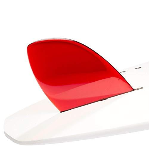 DORSAL Rudder Surf Sup Longboard Surfboard Fins (D-Fin) - Red