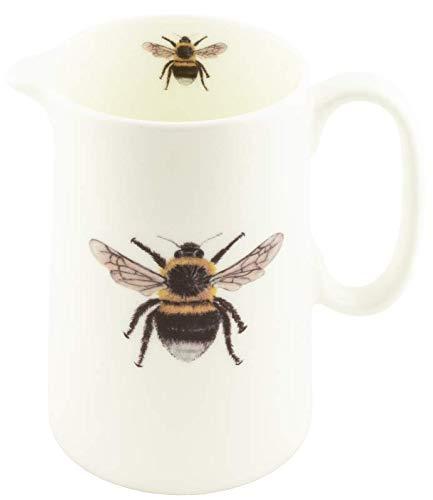 Carafe en porcelaine fine Motif abeille