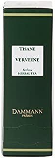 Dammann Frères - Herbal Tea Verbena - 2 x boxes of 24 enveloped Cristal sachets (48 count / tea bags)