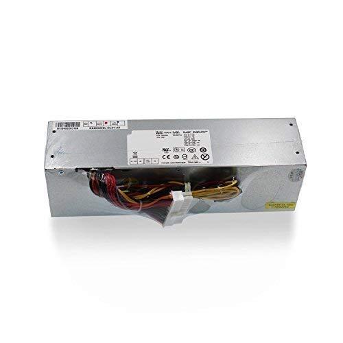 HotTopStar - Fuente de alimentación de sobremesa (240 W, H240AS-00, AC240AS-00, L240AS-00, sustitución de fuente de alimentación para Dell OptiPlex 390 790 990 3010 7010 9010 SFF Systems