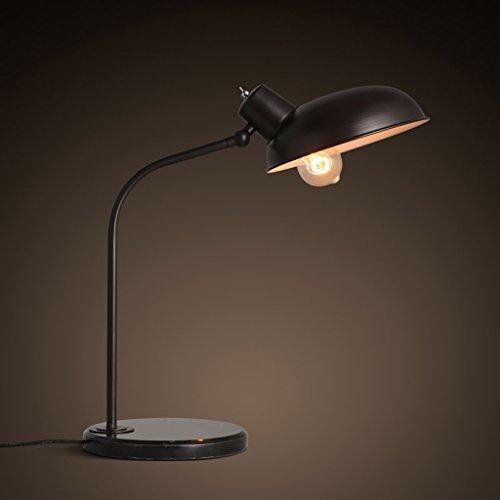 Bonne chose lampe de table Lampes Lampe à vent industrielle Lampe de table rétro Nostalgia Iron Eye Lampe à table de chevet