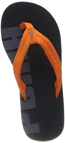 Puma Unisex Kids EPIC FLIP V2 PS Flipflop, Peacoat-Flint Stone-Vibrant Orange, 31 EU