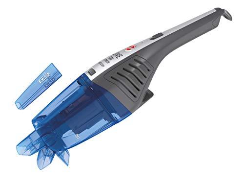 Hoover Jive Lithium HJ72WDLB, Aspirador Mano sin Cable, Líquidos y sólidos, Carga ultrarápida 90 mins, Batería Litio, Posición Vertical, Muy Ligera 0,8Kg, Autonomía 10min, Azul