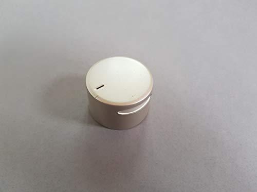 Botón Mando de Temperatura para Cocina Eléctrica BEKO - Plata