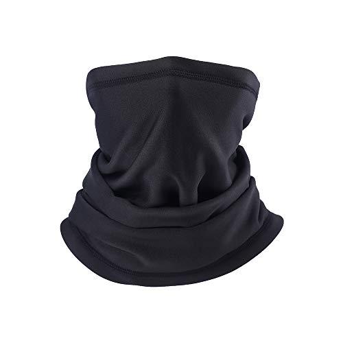 PRAVETTE Halswärmer,Kälteschutz Gesichtsmaske,100{946576470ab0c72bda67e3f2ec1069a20bf59912a2d7bec941df07c3ad411584} Fleece Multifunktionstuch Halswärmer Motorradmaske Skimaske Mütze für Damen und Herren