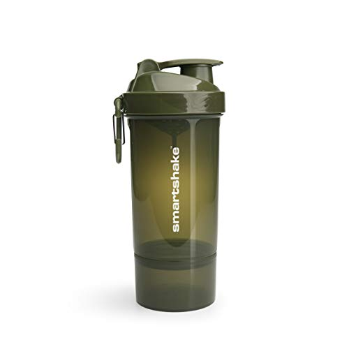 Smartshake ORIGINAL2GO Lite-Army Green One (800ml), plástico