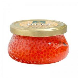 Kaviar - Zarendom Forellenkaviar 200 g Glas - roter Kaviar - caviar - икра