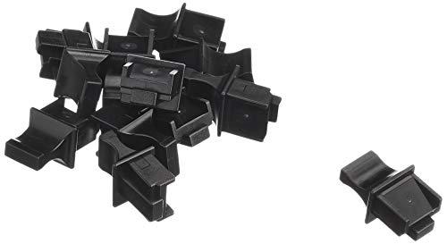 InLine 59942E 100er Pack Staubschutz, für RJ45 Buchse, schwarz