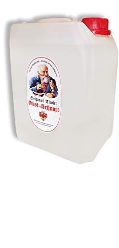 Original Tiroler Obst Schnaps (1 x 5.00 l)