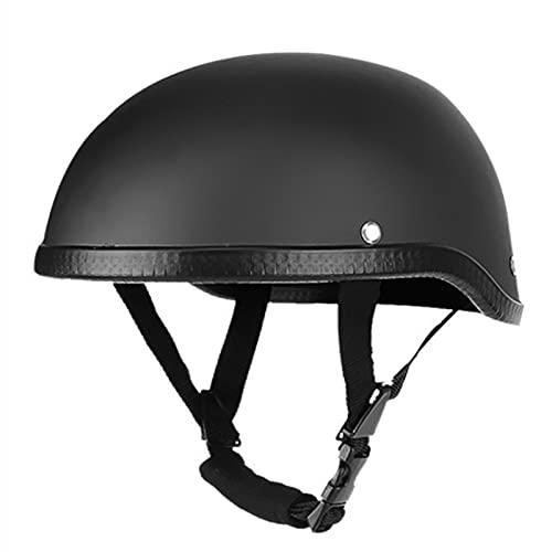 BGMKE Jet Helm Retro Style Motorrad Helm Halber Motorradhelm ECE Zertifiziert Herren Damen Moped Mofa-Helm Jethelme Open Face Halbes Motorradhelm Roller Helm Mopedhelm Motorrad Halbhelme