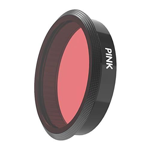 Gazechimp Tauchen Filter Schnorchelfilter Actionkamera Filter für DJI OSMO Action Unterwasserlinsen - Pink
