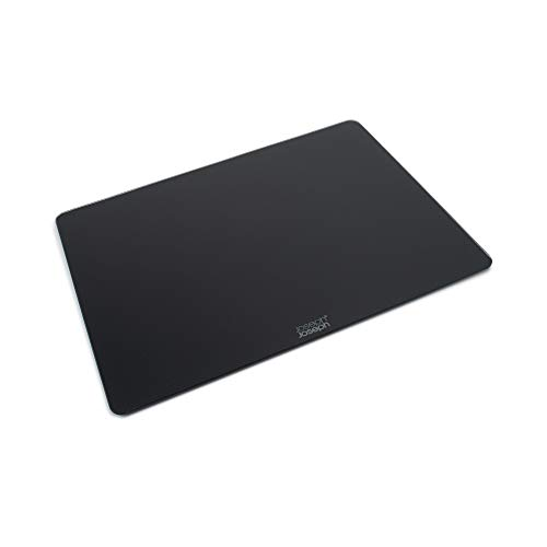 Joseph Joseph Tabla de Cristal, Negro, 40 x 30 x 0.7 cm