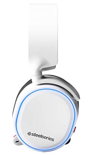 SteelSeries Arctis 5 - Casque de Jeu à Éclairage RVB - Son Surround DTS Headphone:X v2.0 pour PC...