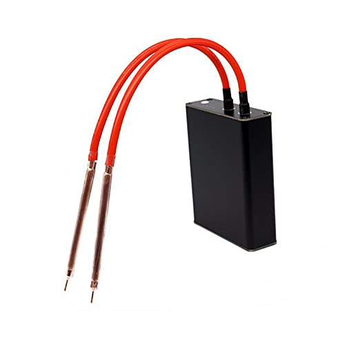 Dgtrhted Spot Welder, kit de máquina de soldadura de bricolaje portátil de mano, recargable por USB con bolígrafo de liberación rápida, placa de níquel para soldador de batería 18650