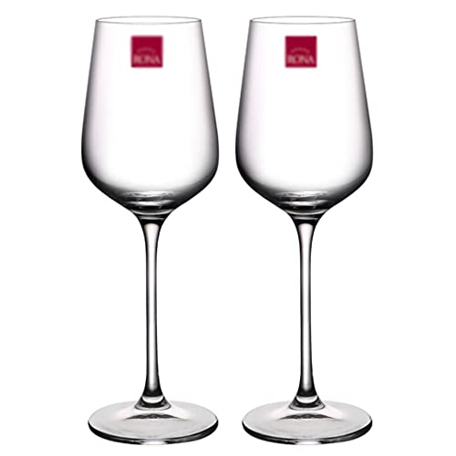Juego de 2 copas de vino grandes sopladas a mano, copas de vino de tallo largo para degustación de vino, boda, aniversario, copas de vino de Navidad (color: 350 ml x 2)