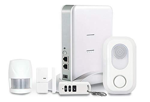 profitec HSC 04 GSM Smartphone gesteuerte Smart Home Internet Hausautomation Alarmanlage Set mit APP auf Deutsch