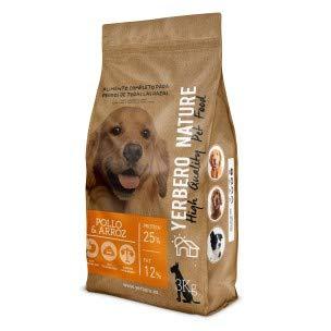 YERBERO Nature, kip en rijst, Premium hondenvoer 3 kg