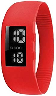 IOION L-RED07-I Casual Watch For Unisex Digital Silicone - Red