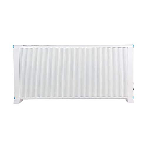 Heteluchtverwarming, bescherming tegen oververhitting, thermische uitschakeling, compact en vrijstaand design, 2 warmtestanden, in klassiek wit voor thuis en op kantoor.