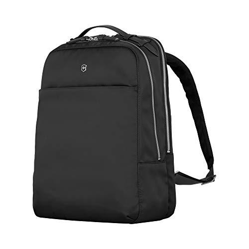Victorinox Victoria 2.0 Deluxe Business Backpack - Zaino porta PC Laptop 16 Pollici - Donna - 21x29x40cm - 17l - 0,8Kg - Nero