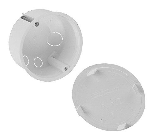 Interruptor Caja empotrar – Caja 80 mm (13.45 Po de diámetro 80ep ...