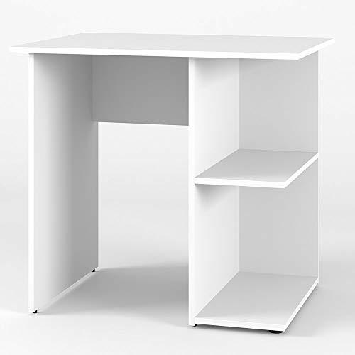 Vicco Schreibtisch Simple 76 x 82 cm - Schminktisch PC Tisch Kinderschreibtisch Arbeitstisch Computer Regal Büro Eckschreibtisch