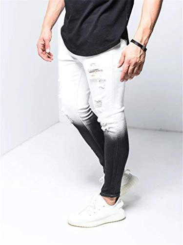 Jeans Hose Röhrenjeans Streetwear Jeans...