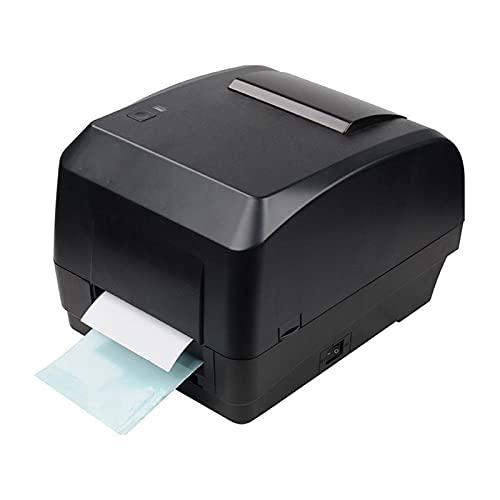 impresora de etiquetas Impresora de transferencia térmica Etiqueta autoadhesiva de la etiqueta de la etiqueta de la cinta de la ropa recubierta de cobre de la ropa de la etiqueta de la joyería de la m