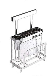 HSWJ Cuisine Rack Outil de Cuisine Rack Mural Support de Rangement d'outils de Coupe Conseil Support de Rangement