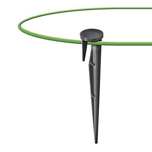 GARDENIX 200 pezzi WirePEG picchetti di fissaggio per cavo perimetrale per rasaerba robotizzati compatibile con Gardena Husqvarna Worx Bosch