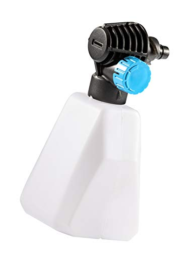 GLORIA Schaum Set für MultiJet 18V - Zubehör für mobilen Akku-Hochdruckreiniger zur Ausbringung von Reinigungsschaum (Schaumdüse mit Flachstrahl, perfekt für die Autoreinigung)
