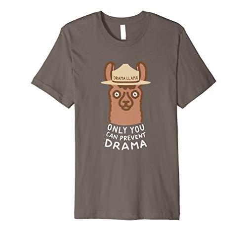 Original Smokey Llama Only You Can Prevent Drama Llama Tee Premium T-Shirt
