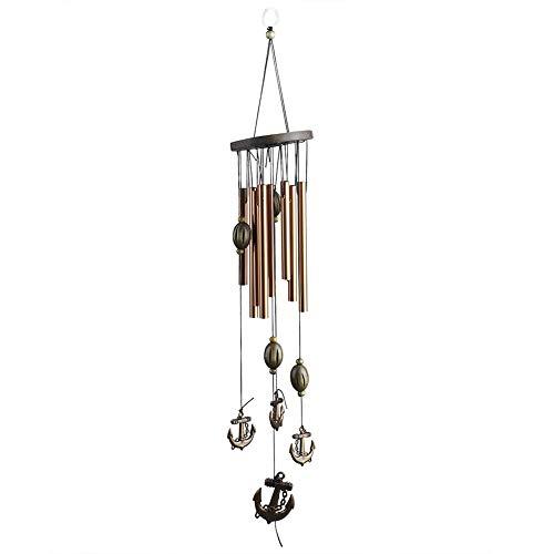 Romantisch CadeauTuindecoratie Windgong, Metalen Buis Windgong, Helder en Zoet Geluid Veilige advertentie Niet giftig, voor Deuren Familie Woonkamer(G953A)