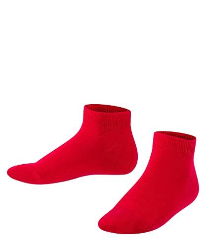FALKE Unisex Kinder Family K SN Socken, Rot (Fire 8150), 35-38 (9-12 Jahre)