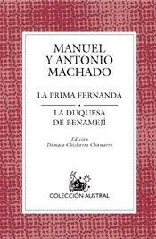 La prima Fernanda / La duquesa de Benamejí (Teatro)