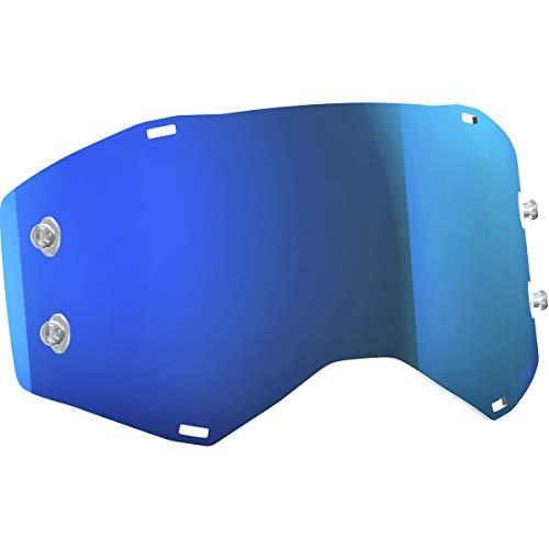 Scott Sports Unisex-Adult Works Lens (Electric Blue Chrome, Adult) - 248776-282