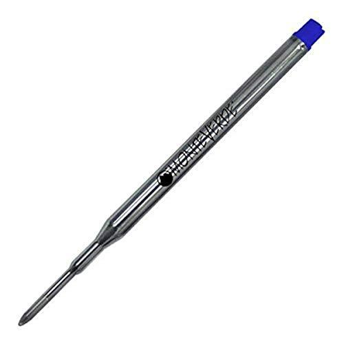 Monteverdeキャップレスジェル詰め替えtoフィットSheafferボールペン, Fine ,ブルー、50パック( s424bu )