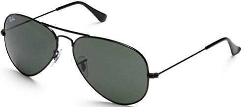 Ray Ban RB3025 Aviator occhiali da sole 58 mm