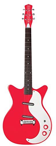 Danelectro 59 Modified New Old chitarra elettrica, colore: rosso
