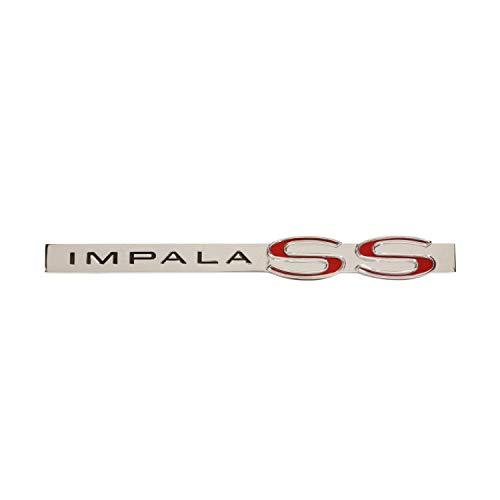"Trim Parts 2191 Full Size Trunk Emblem (1962 Chevrolet ""Impala SS"")"