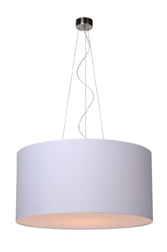 Lucide CORAL - Suspension - Ø 40 cm - Blanc