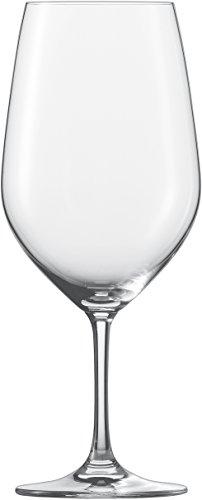 Schott Zwiesel Viña 7544472 Juego de 6 Copas de Vino de Cristal Transparentes 62,6 cl