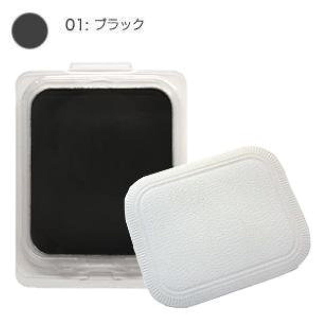 トロイの木馬公平な衣装モナリザ ヘアケアファンデーション つめかえ用 (ブラック) 12g(パフ付)