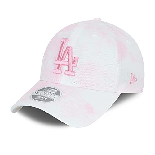 New Era Los Angeles Dodgers MLB Cap Basecap Kappe Baseball Damen Frau Denim rosa - One-Size