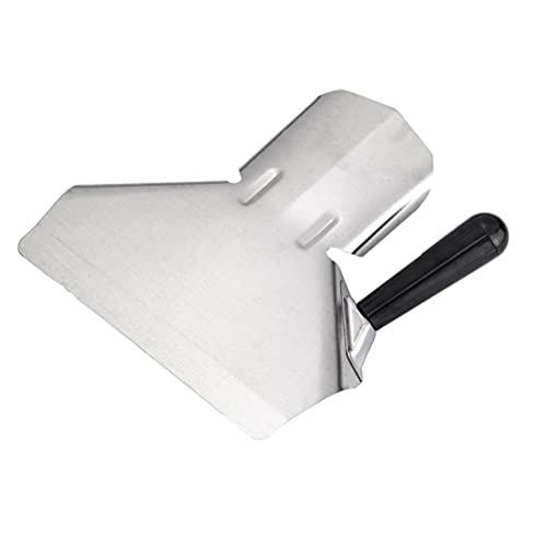 Yardwe Popcorn Paletta E Dragare Shaker Fascio Multiuso Heavy- Duty In Acciaio Inox di Riempimento Strumento per Patatine Fritte Snack Ghiaccio Secco Merci