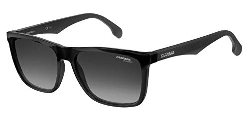 Carrera 5041/S 9o Gafas de sol, Negro (Black/Dark Grey Sf), 56 Unisex-Adulto