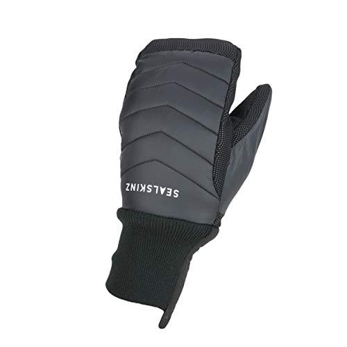 SEALSKINZ Unisex Waterproof All Weather Lightweight Insulated Mitten Black 2X Large