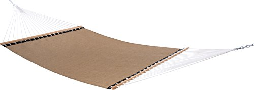 Vivere Poolside Double Hammock, Taupe