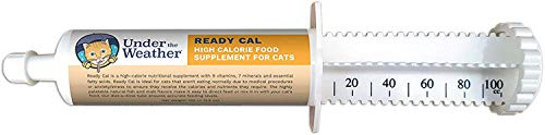 Under the Weather Pets | Ready Cal for Cats 3.5oz | High Calorie Nutritional Supplement for Weight Gain & Cat Not Eating | 9 Vitamins, 7 Minerals, Fatty Acids | Palatable Natural Fish & Malt Flavor